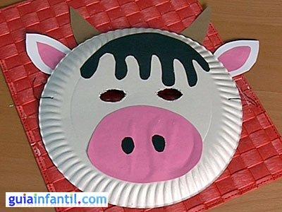 Máscara de vaca 6