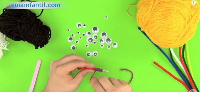 Cómo hacer marionetas con palos