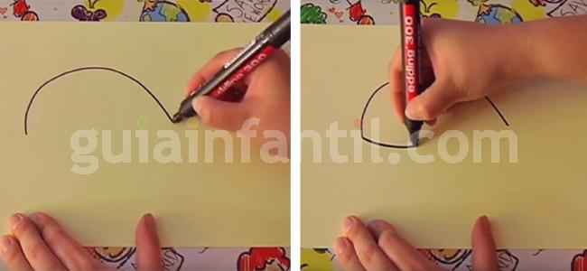 dibujar una ballena 1
