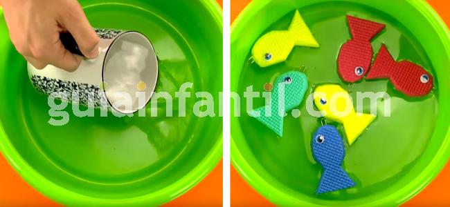 manualidad pesca el pez paso 8