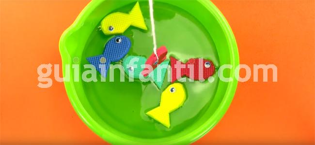 manualidad pesca el pez paso 9
