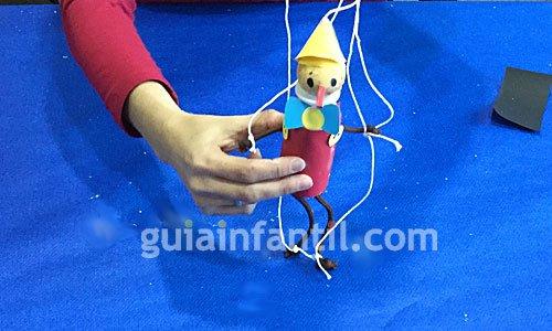 Pinocho terminado