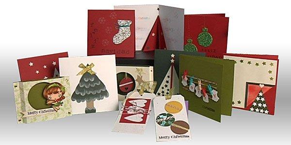 Postales de Navidad manualidades infantiles