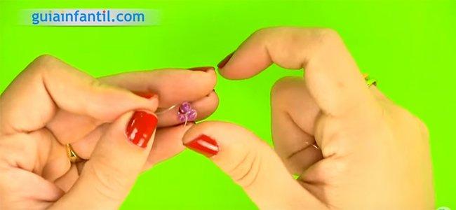 Cómo hacer pulseras de abalorios. Paso 1
