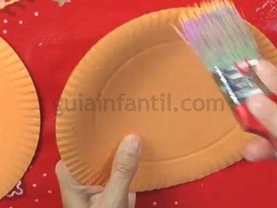 Cómo hacer un reno de reciclaje. Paso 1