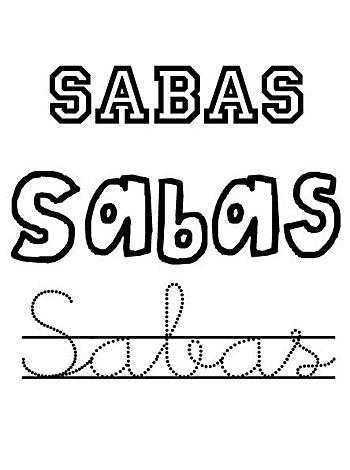 Día del santo Sabas, 5 de diciembre. Nombres de niño