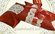 Calendario de Adviento de Navidad de cartón