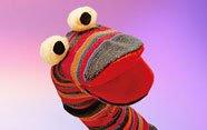Marioneta con calcetín
