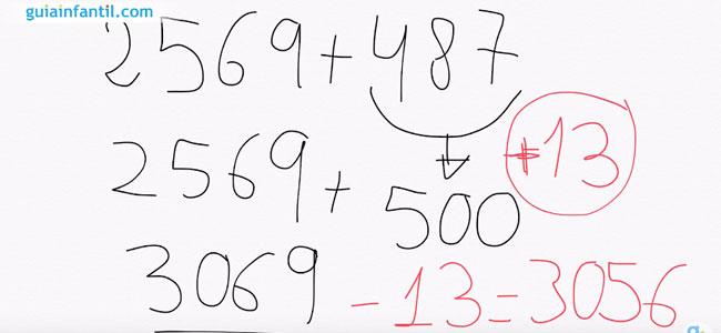 Aprender a sumar más rápido