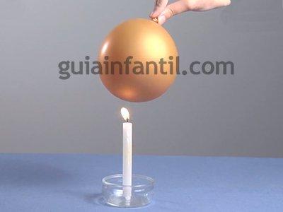 Comprobar la resistencia de un globo. Paso 1.