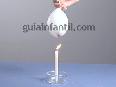 Comprobar la resistencia de un globo. Paso 4.