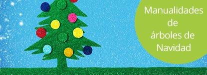 Manualidades de árboles de Navidad