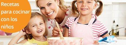 Recetas para cocinar con los niños