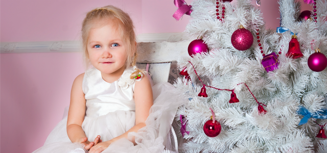 Los mejores peinados para niñas para Navidad