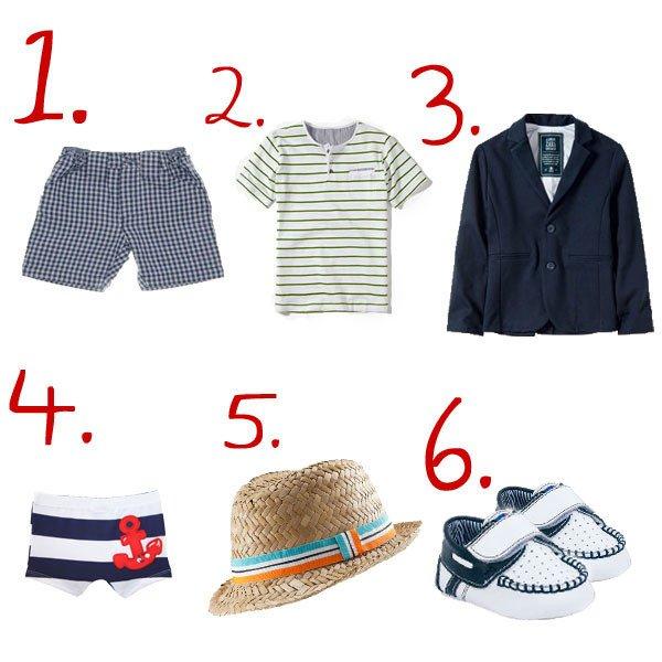 bazar estilo marinero para niños