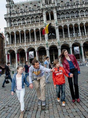 Monumentos en Bruselas para familias