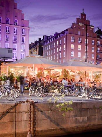 Moverse con niños por Estocolmo