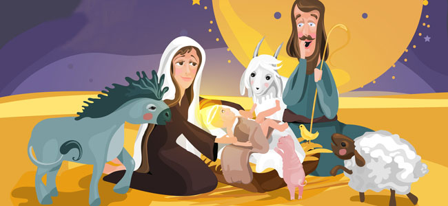 El rey dormilón. Poema de Navidad para niños