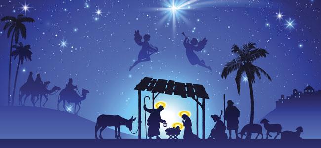 Al nacimiento de Cristo. Poema navideño para niños