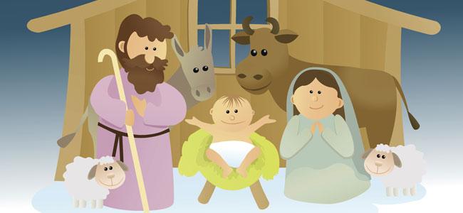 ¿Quién ha entrado en el portal de Belén? poema de navidad para niños
