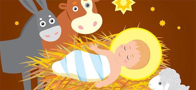 Hacia Belén va una burra. Canción navideña para niños