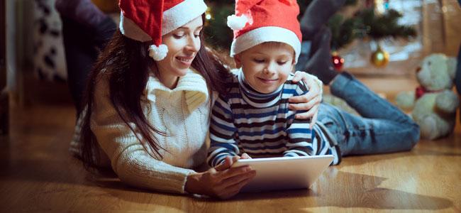 Cuentos navideños de papá Noel para niños