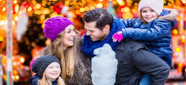 Por qué las Navidades mejoran la salud de los padres