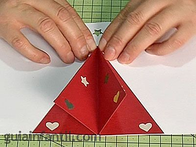 Worksheet. Postales de Navidad para nios rbol en 3D