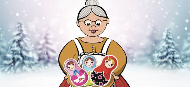Babushka con muñecas