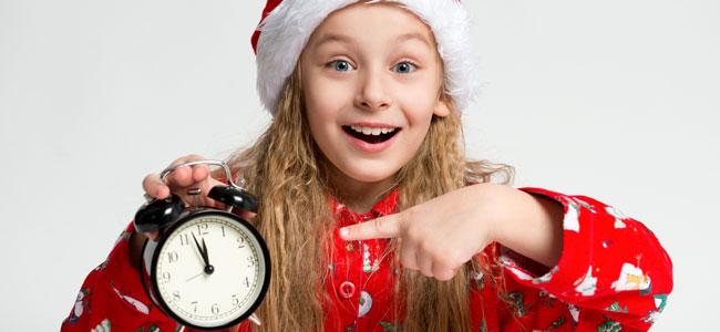 Celebrar Nochevieja con los niños