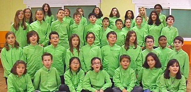 Vídeos de coros de niños con villancicos