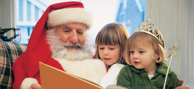 Papá Noel cuenta cuento