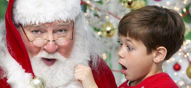 Cómo decir la verdad a los niños sobre Papá Noel
