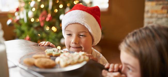 Dulces de Navidad que son peligrosos para los niños