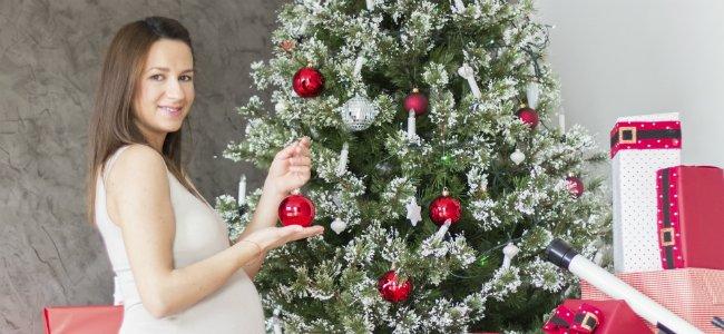 Cómo disfrutar la Navidad si estás embarazada.