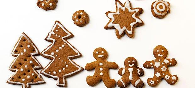 Galletas para comer y decorar la Navidad