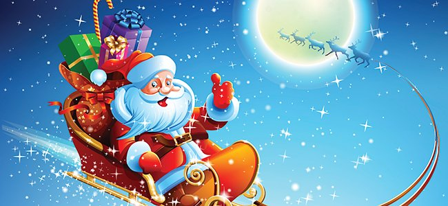 Imagenes De Papa Noel De Navidad.La Verdadera Historia De Papa Noel