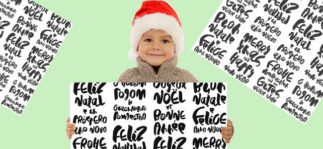 Felicitar la Navidad en diferentes idiomas