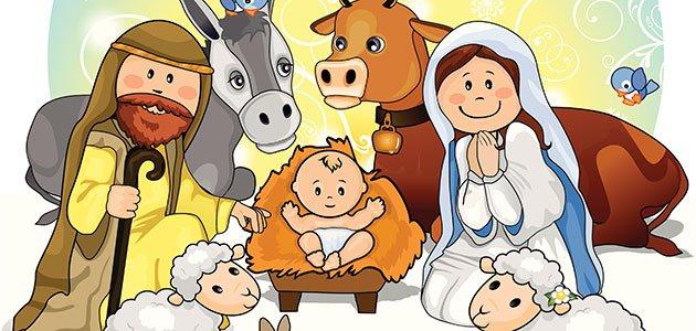Fotos De El Pesebre De Jesus.Nacimiento Del Nino Jesus Cuento De Navidad