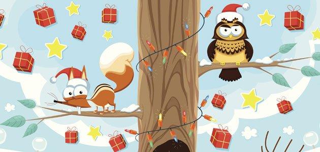 Cuento una Navidad en el bosque