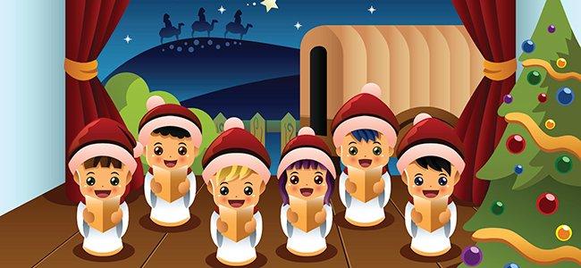 Villancico para niños Hoy es Navidad