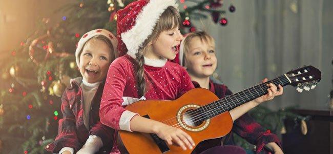 Los instrumentos musicales en Navidad