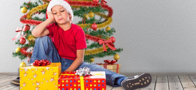 El error de dar a los niños todo lo que piden en Navidad