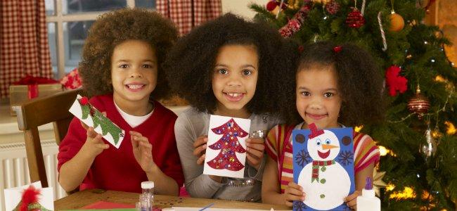 Planes para niños en Navidad.