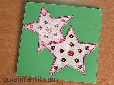 Postal de estrellas 6