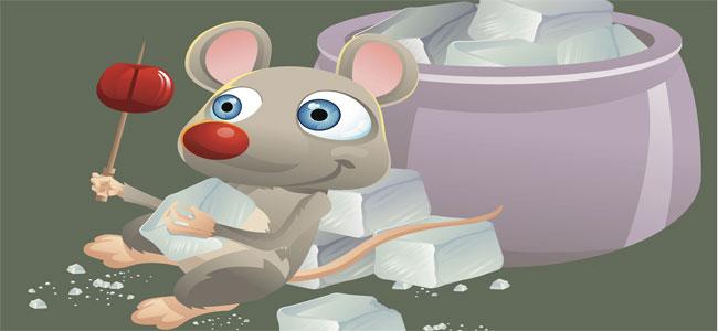 El ratón Enriqueto. Cuento infantil sobre la obesidad