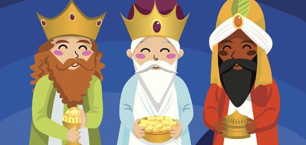 Resultado de imagen de imagenes de reyes magos