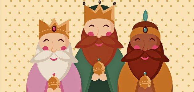 Los tres reyes magos. Villancicos para niños