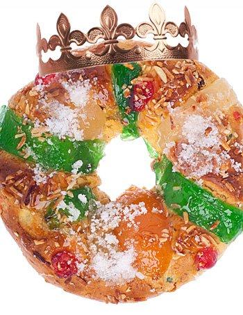 Roscón de Reyes para elaborar con los niños
