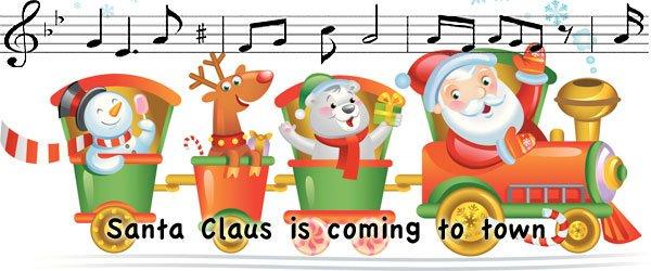 Santa Claus is coming to town. Villancico para niños